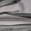 Трикотажная сетка цв.черная 75 гр м2