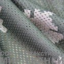 Трикотажная сетка КМФ цв.меркурий, 115 гр м2